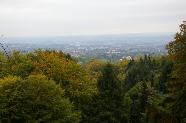 Looking Down at Kassel
