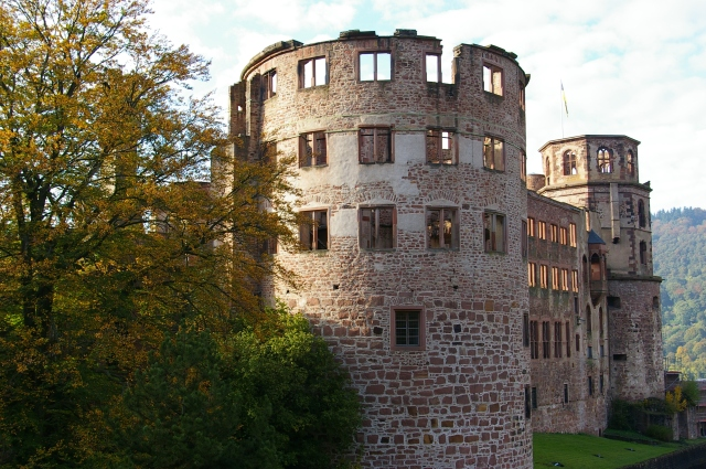 View of Some of the Most Preserved Parts of the Castle