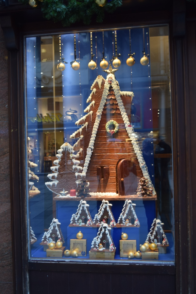 Chocolate Store Window in Vienna, Austria
