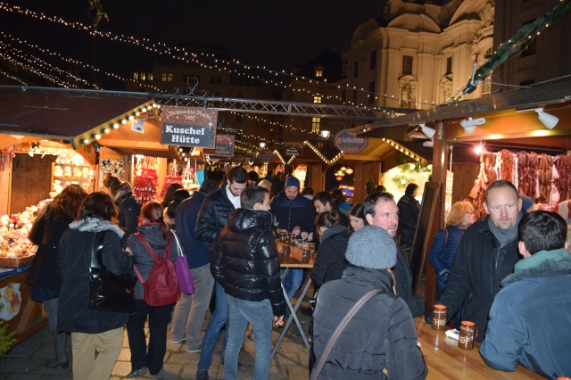 The Second of Four Christmas Markets in Vienna