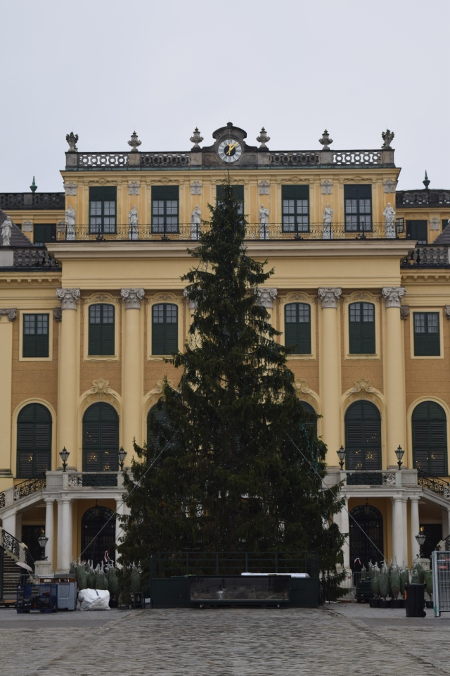 Christmas Tree in the Main Courtyard
