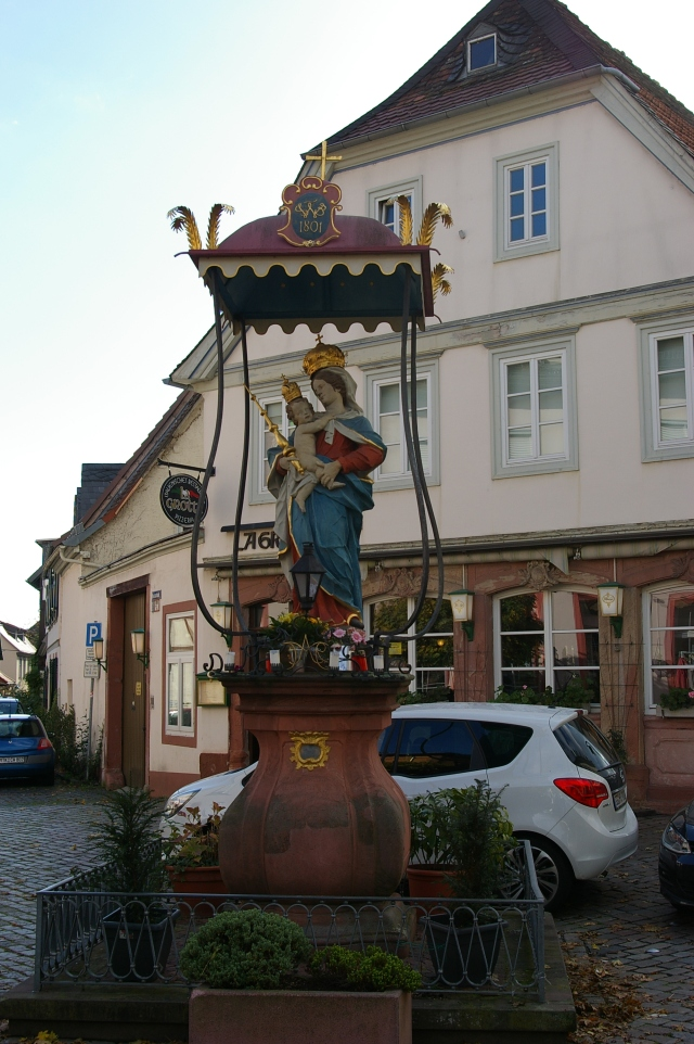 Statue as You Enter Town
