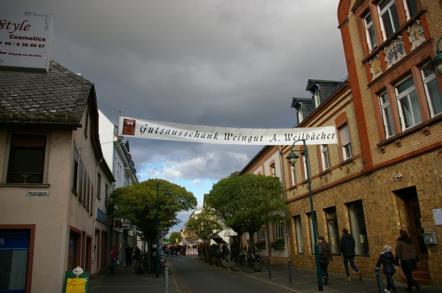 Banner at the Market