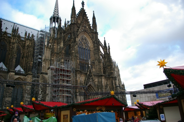 Market outside of the Dom in Cologne